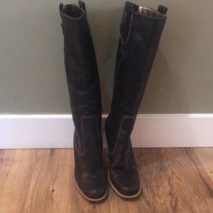 EUC Nine West knee-high boots, size 7.5